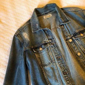 Oversized XS Used Madewell Denim Jacket!